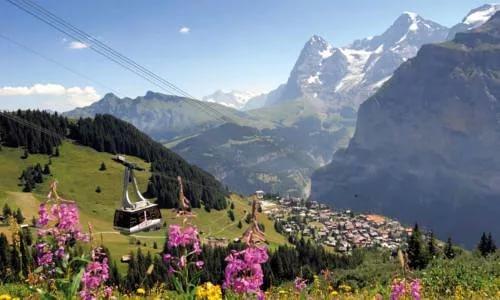 Швейцарское небо. Швейцарское качество.